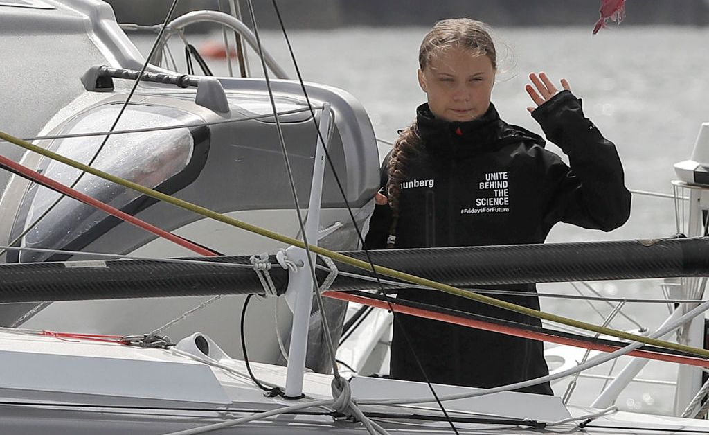 Climate Activist Greta Thunberg, 16, Gets Here in New York After Sailing Throughout the Atlantic