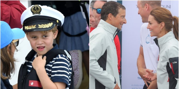 Prince George ate an ant for the very first time during a day out with Bear Grylls, Kate Middleton, and Prince William