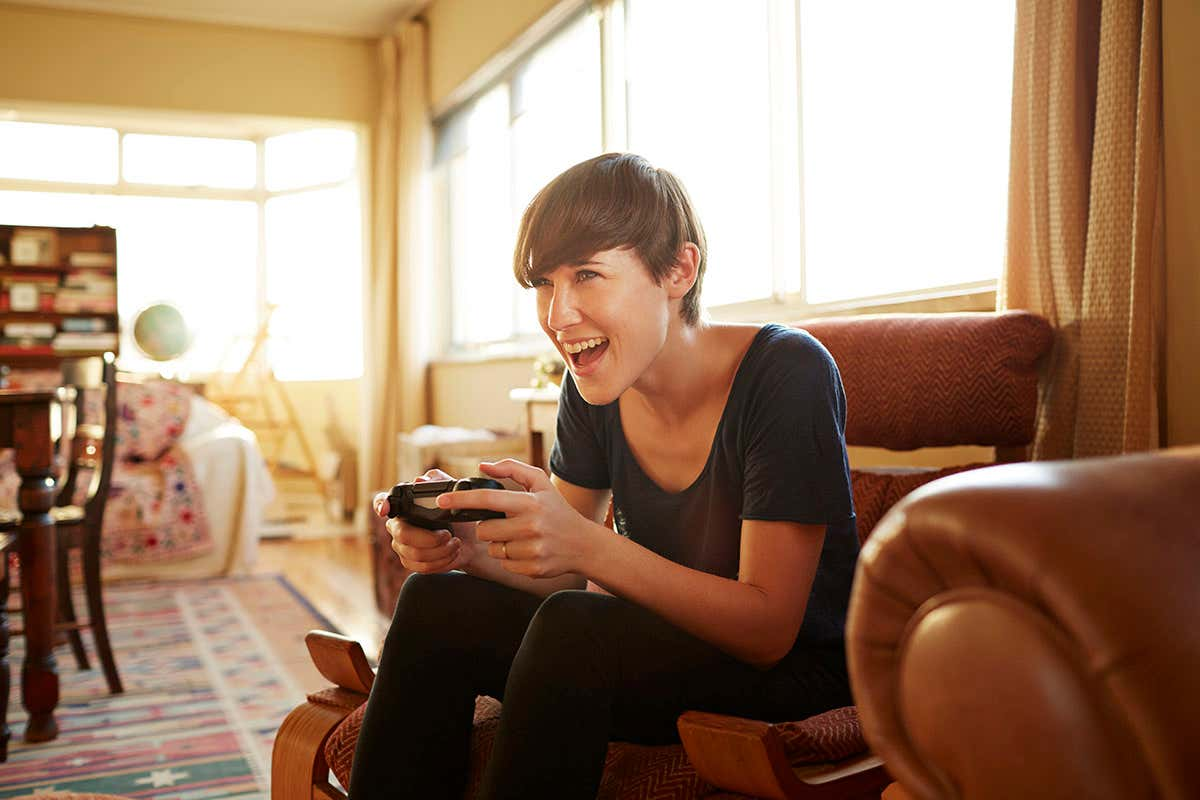 Can video games assist decrease signs of mental health conditions?