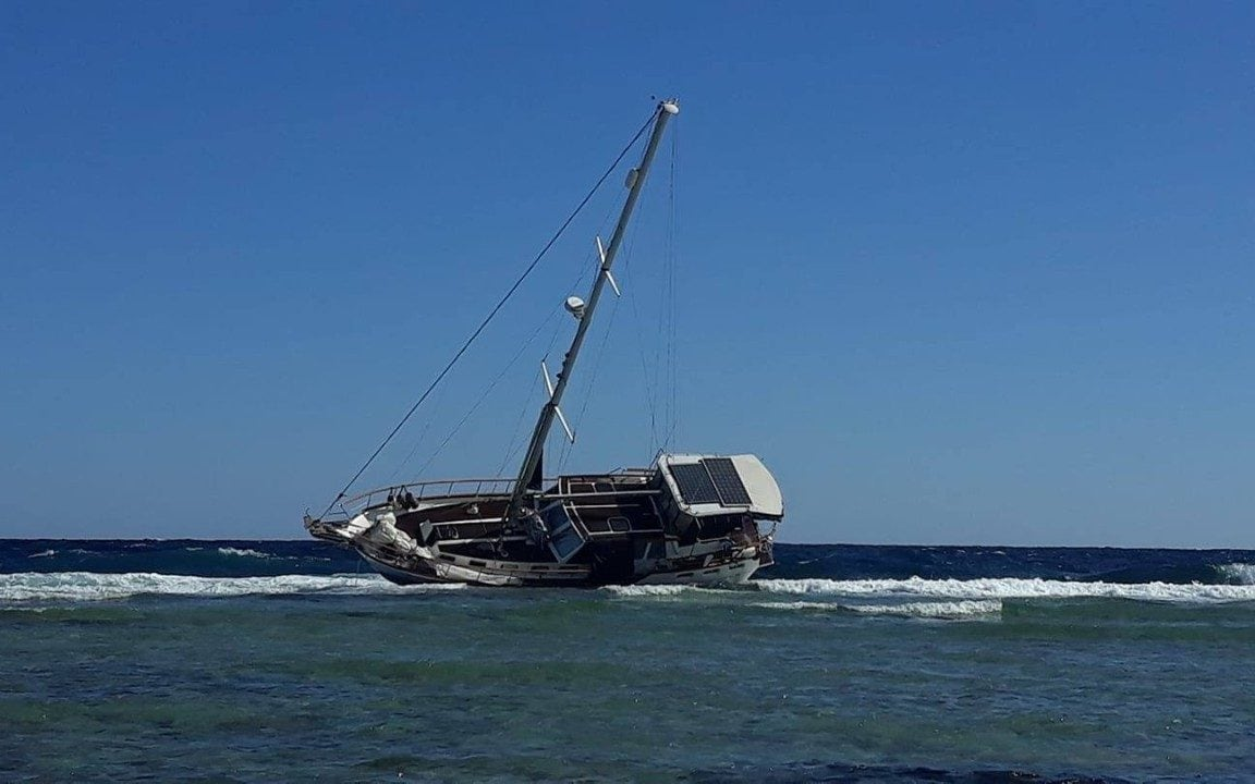 Entrepreneur on 5,000-mile cruising journey missing after luxury yacht found crashed off Egyptian coast
