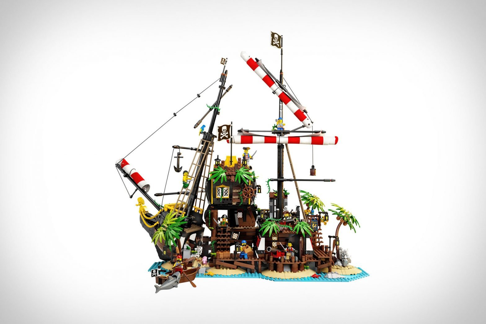 Lego Pirates of Barracuda Bay Structure Set