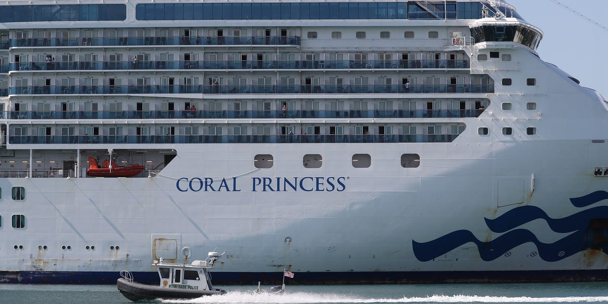 A cruise liner with two coronavirus deaths and at least 12 infections just docked in Miami– have a look at how it wound up there