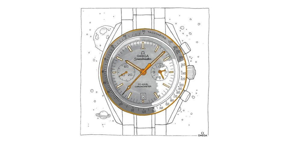 OMEGA Introduces Free Watch-Themed Coloring Book