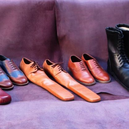 Fed-up cobbler styles extra-long social-distancing shoes