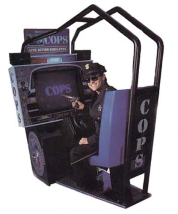 POLICE OFFICERS, the Atari game videogame from 1994