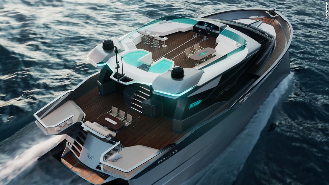 New Trimonoran superyacht idea might be future of high-end cruising