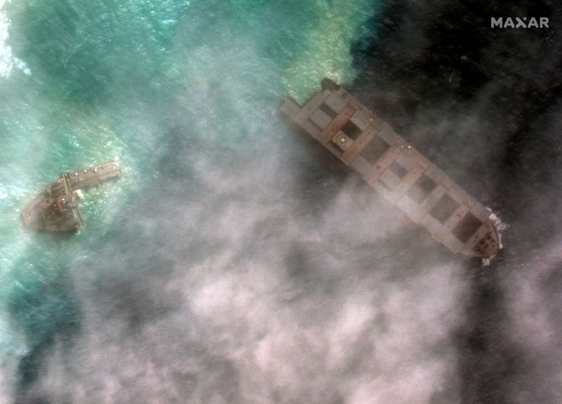 Mauritius arrests captain of Japanese oil spill ship