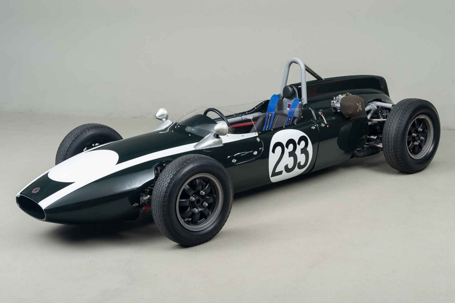 Steve McQueen's Cooper T-56 Formula Junior Race Car