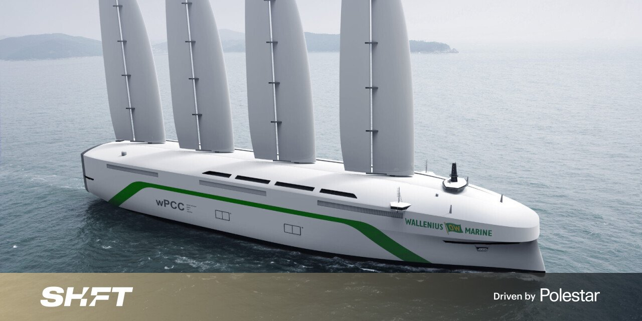 Swedes to construct wind-powered transatlantic cargo ship (yes, it's a sailboat)