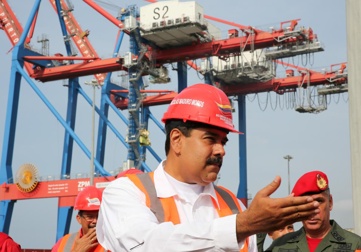 Exclusive: Iranian vessel loads with Venezuelan alumina, amid closer ties